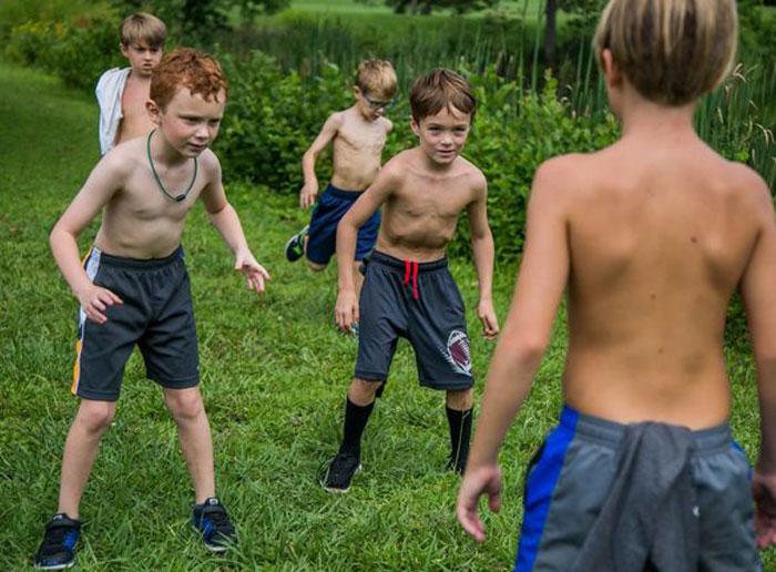 Nudist Boys Camp - Gay-Boys.in
